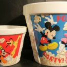 Disney Characters Ceramic Popcorn Tub Set (2)