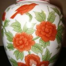 NORLEANS  Bird  & Flowers Porcelain  China Spice Pot