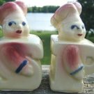 VINTAGE SHAWNEE BAKER/CHEF SALT & PEPPER SHAKERS 1950s