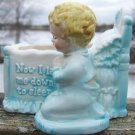 "VINTAGE ENESCO PRAYING BOY PLANTER ""Now I Lay Me Down"""