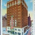 "VINTAGE ""HOTEL WARREN, INDIANAPOLIS, IN."" POST CARD"