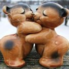 VAN TELLINGEN BROWN Bear Salt & Pepper Shakers - RARE!