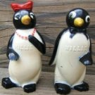 "VINTAGE ""WILLIE & MILLIE"" PENGUIN SALT & PEPPER SHAKERS"