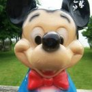 MICKEY MOUSE HEAD CHALKWARE BANK 1940's CARNIVAL PRIZE!