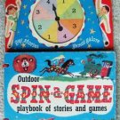 CAPITOL PUBLISHING OUTDOOR SPIN-A-GAME BOOK 1952