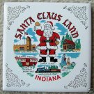 "SOUVENIR FM ""SANTA CLAUS LAND, INDIANA"" CERAMIC TILE"