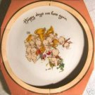1978 KEWPIE Collector's Edition Porcelain Plate -Signed