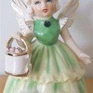 EMERALD (LOVE) MAY ANGEL FIGURINE - S&R JAPAN 1950's