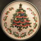 VINTAGE LEFTON CHRISTMAS TREE FUDGE PLATE - JAPAN 1950s