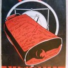 "VINTAGE WLS ""NATIONAL BARN DANCE"" SOUVENIR PROGRAM 1935"