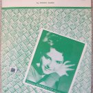 BRENDA LEE ROCKIN AROUND CHRISTMAS TREE SHEET MUSIC '58