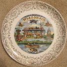 "VINTAGE ""WISCONSIN"" COLLECTOR'S PLATE 1950's INDIANS!!"