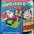 """SANTA CLAUS IS COMING TO TOWN"" 45 RPM Ext.Play Record"