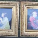 VICTORIAN BOY & GIRL FRAMED PRINTS - MADE IN ITALY!