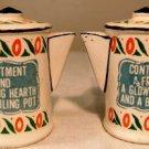 VINTAGE Coffee Pot Salt & Pepper Set ( Quality - JAPAN)