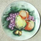 """VINTAGE LEFTON CHINA HAND PAINTED """"FRUIT"""" PLATE  60408"""