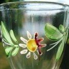 VINTAGE HAND PAINTED PETITE STEMMED GLASSES (4) L@@K!!