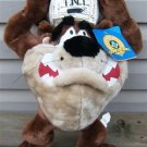 "LOONEY TUNES TAZMANIA DEVIL ""TNT"" STUFFED DOLL 1998"