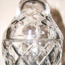 Cut Glass Pear Shaped Condiment Dish