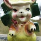 VINTAGE EASTER BUNNY PLANTER 1950's PERFECT FOR TREATS!