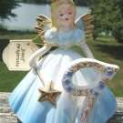 VINTAGE JOSEF ORIGINAL 9TH YEAR BIRTHDAY ANGEL  w/ TAGS