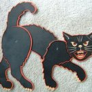 VINTAGE BEISTLE JOINTED DIECUT BLACK CAT - USA 1960's