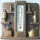 "MILLER STUDIO CHALKWARE ""BLESS THIS HOUSE"" THERMOMETER"