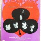 Sheet Music T.JAMES & THE SHONDELLS CRIMSON & CLOVER'68