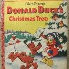WALT DISNEY DONALD DUCK'S CHRISTMAS TREE GOLDEN BOOK 54