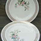 "VINTAGE SHELLY 7"" PLATES (4) - ROYAL CHINA 22K GOLD"
