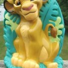 DISNEY SIMBA LION KING PLASTIC COLLECTOR'S BANK 1994