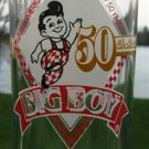 VINTAGE BIG BOY 50TH ANNIVERSARY GLASS 1936-1986 L@@K!