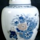 Oriental Porcelain China Spice Jar / Trinket Pot