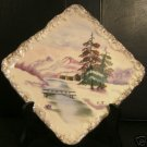 Ucagco Hand Painted Ceramic Wall Plate (Signed)