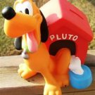 "DISNEY ""PLUTO & DOGHOUSE"" BANK - FIRM RUBBER w/ STOPPER"