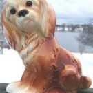 "VINTAGE ROYAL COPLEY COCKER SPANIEL PLANTER 7"" L@@K!!"