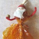 """VINTAGE CANDY CRAFTER'S """"SANTA"""" MARIONETTES WRAPPER 40s"""