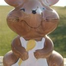 "VINTAGE JOSEF ORIGINAL ""CHEF"" MOUSE CHEESE SHAKER L@@K!"