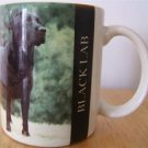BARBARA AUGELLO BLACK LABRADOR RETRIEVER MUG 1994 L@@K