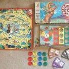 VINTAGE MILTON BRADLEY ANNIE OAKLEY GAME 1950s WESTERN
