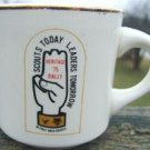 "VINTAGE ""SCOUTS TODAY LEADERS TOMORROW"" BURGER KING MUG"