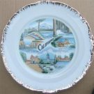 VINTAGE CALIFORNIA COLLECTOR'S PLATE  BP PRODUCTS JAPAN