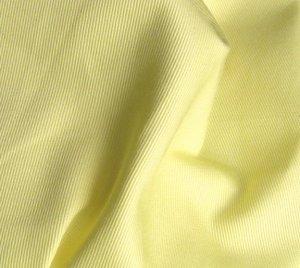 2 Y Organic Cotton Twill  Fabric Soft Silky SUNSHINE YELLOW