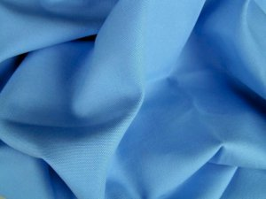 20 Y Organic Cotton Duck Canvas Upholstery Fabric ICE BLUE