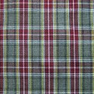 "GRAY BURGUNDY WHITE PLAID TARTAN FABRIC 60"" WIDE"