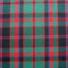 "RED GREEN BLACK BLUE MACDONALD TARTAN PLAID FABRIC 60"" WIDE"