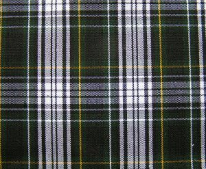 "10 y GORDON DRESS TARTAN PLAID FABRIC 60"" WIDE"