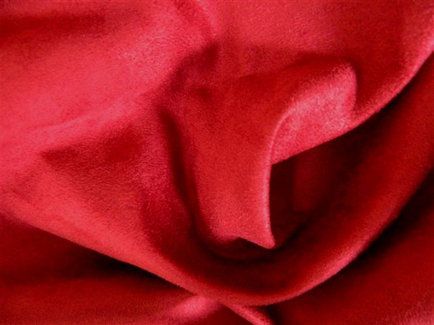 10 yards Ultrasuede Microfiber Upholstery Slipcover Fabric RED