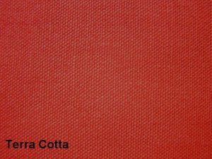 10 y Cotton Canvas Duckcloth Upholstery Fabric TERRA COTTA