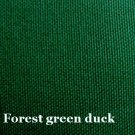 10 y Cotton Canvas Duckcloth Upholstery Fabric FOREST GREEN
